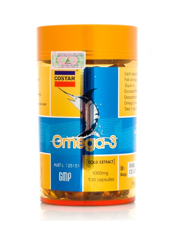 Viên dầu cá Omega 3 Costar 1000mg của Úc