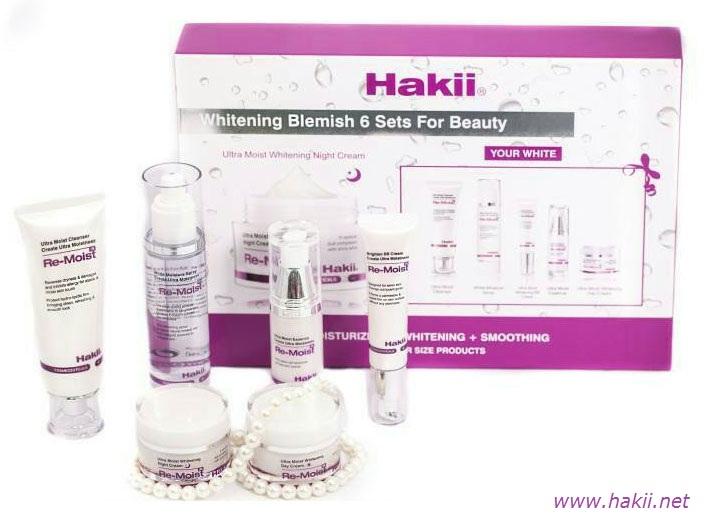 bộ mỹ phẩm Hakii nhật bản